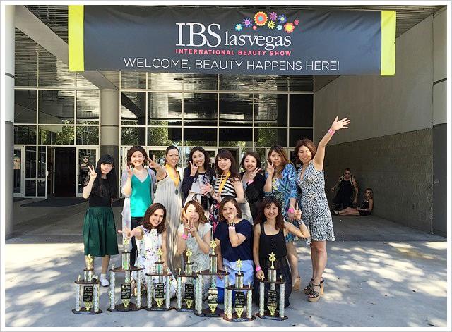 IBSラスベガスコンペティションで三上代表がハンドペイント部門4位入賞!